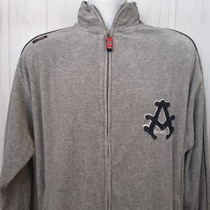 Akademiks | Men's Full-Zip Varsity Jacket | Medium